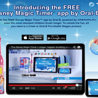 Disney Magic Timer App by Oral-B