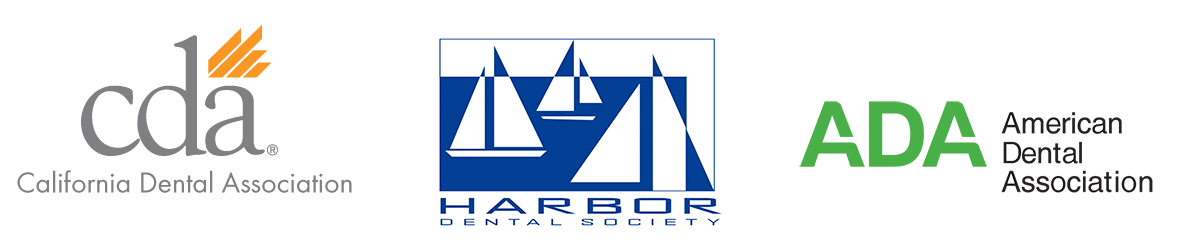 Califonria Dental Association, American Dental Association, Harbor Dental Society